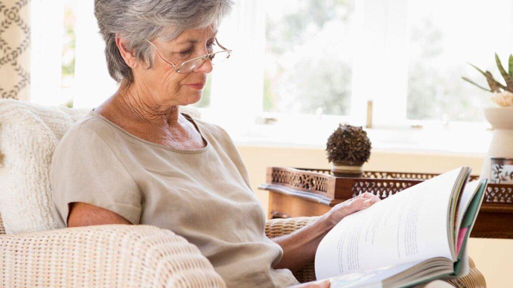 Libros para personas mayores