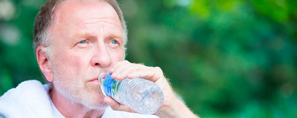 Altas temperaturas y personas mayores